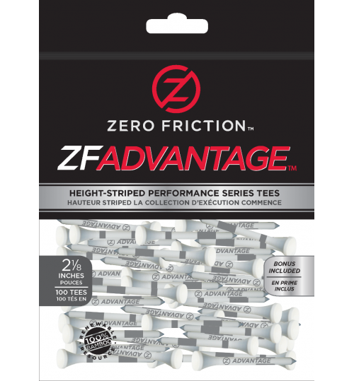 ZFADVANTAGE™ GOLF TEES 2 1/8""