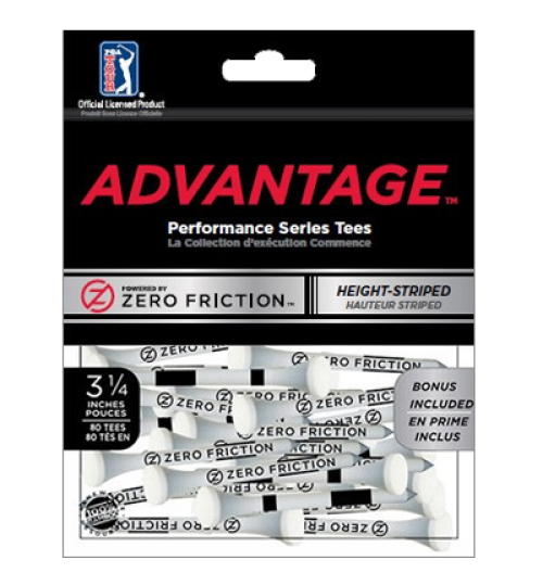 ZFADVANTAGE™ GOLF TEES  3 1/4""