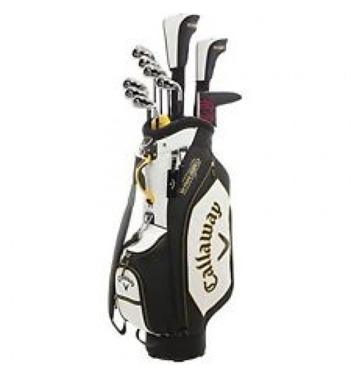 CALLAWAY 2018 WARBIRD GRAPHITE COMPLETE GOLF SET 13-PIECE WITH BAG