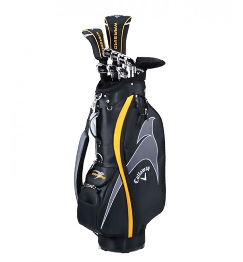 CALLAWAY WARBIRD COMPLETE GOLF SET GRAPHITE 13-PIECES