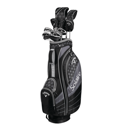 CALLAWAY SOLAIRE WOMEN'S 2018 GRAPHITE COMPLETE SET OFFER & PLUS CALLAWAY UMBRELLA MRP.3990/-