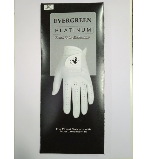 EVERGREEN NEW CABRETTA  LEATHER GOLF GLOVES ON PROMOTIONAL OFFER
