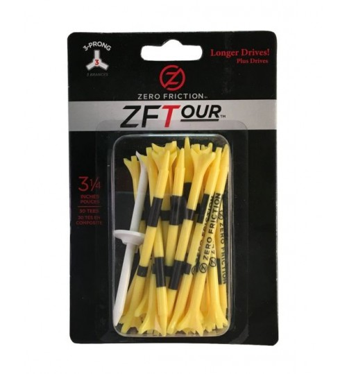 "ZF TOUR 3-PRONG TEES 3 1/4"" INCHS"