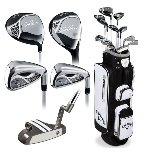 CALLAWAY SOLAIRE WOMEN'S GOLF SET NEW YEAR OFFER