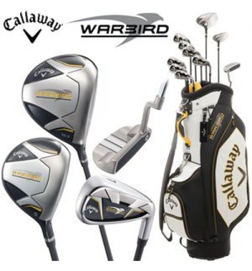 "CALLAWAY WARBIRD 2018 COMPLETE GOLF SET 13-PIECES WITH BAG ""OFFER PLUS FREE CALLAWAY UMBRELLA MRP.3990"""