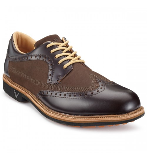 "CALLAWAY DEL MAR BROGUE GOLF SHOES"" EVERGREENGOLF  SPECIAL OFFER 35% OFF"""