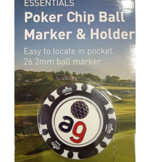 POKER AMERICAN GOLF BALL MARKER