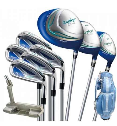 MIZUNO ZEPHYR JAPAN WOMEN'S GOLF SET
