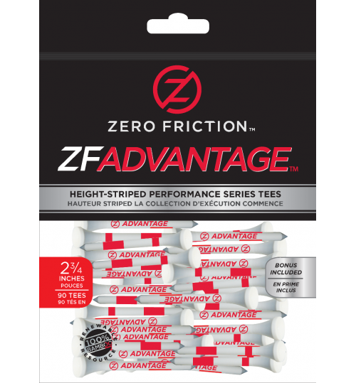 ZFADVANTAGE™ GOLF TEES 2 3/4""